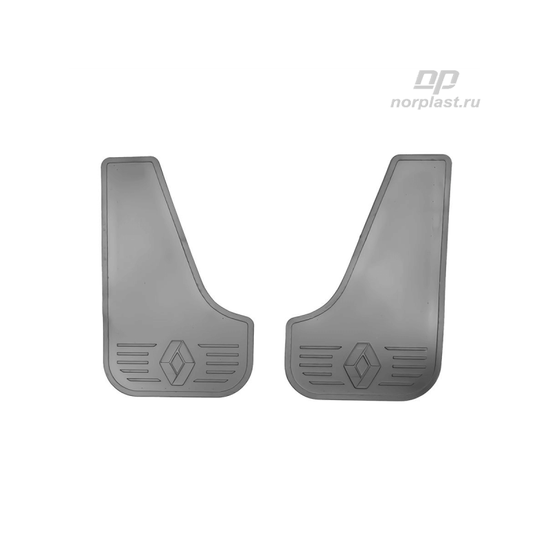 Брызговики плоские для RENAULT CLIO