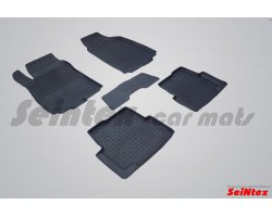 Резиновые коврики высокий борт CHEVROLET AVEO II