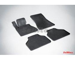 Резиновые коврики сетка BMW 7-Ser E-65