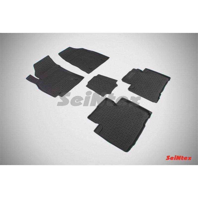 Резиновые коврики высокий борт Geely Emgrand X7