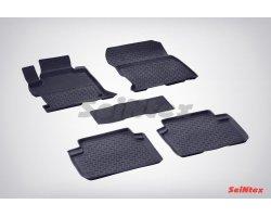 Резиновые коврики высокий борт Honda Accord IX