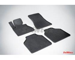Резиновые коврики сетка BMW 7-Ser E-66L