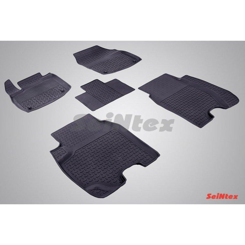 Резиновые коврики высокий борт Honda Civic IX Hatchback