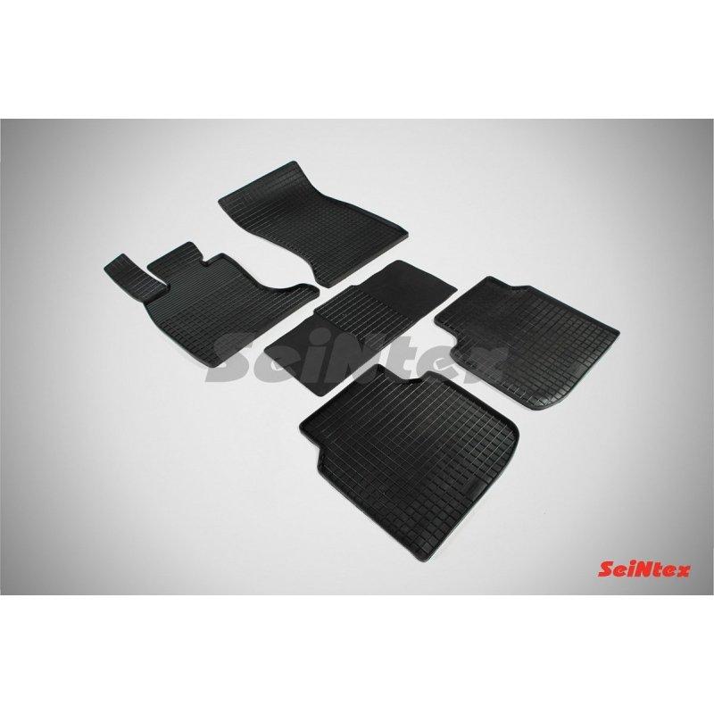 Резиновые коврики сетка BMW 7 Ser F-02