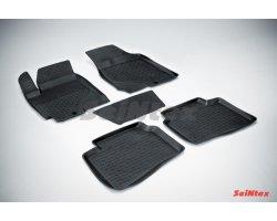 Резиновые коврики высокий борт KIA Cerato 2009