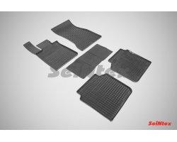 Резиновые коврики сетка BMW 7 Ser G12 VI 4WD