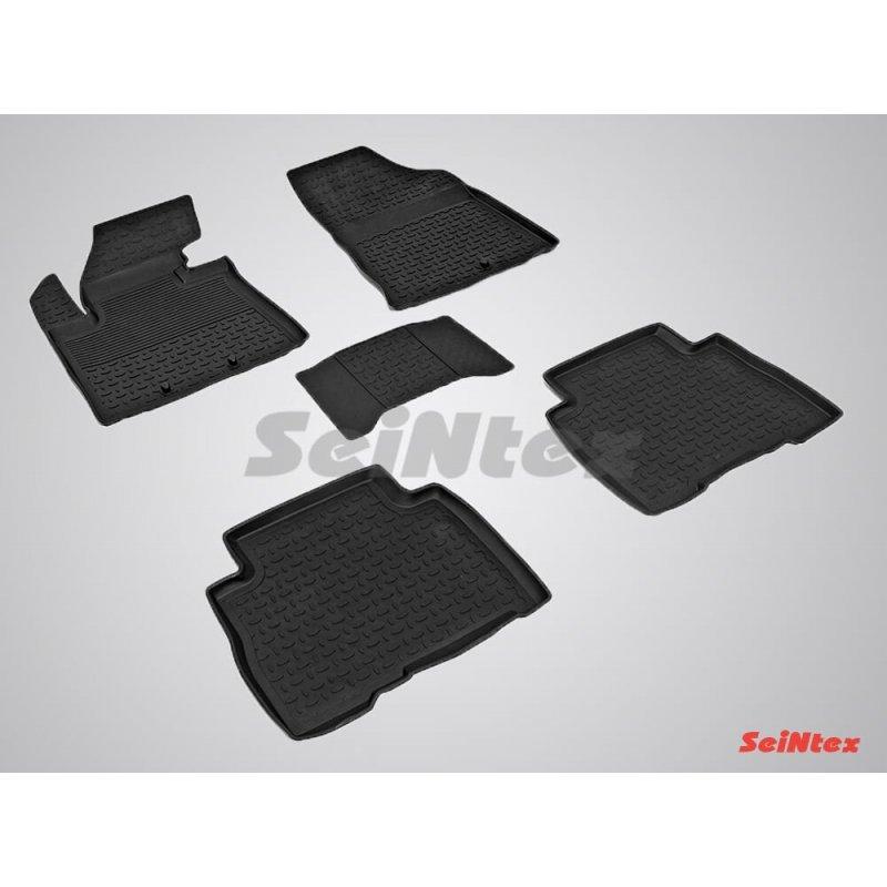 Резиновые коврики высокий борт KIA Sorento 2012