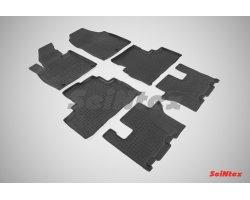 Резиновые коврики высокий борт KIA Sorento Prime