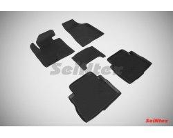 Резиновые коврики высокий борт KIA Sorento 2009-2012