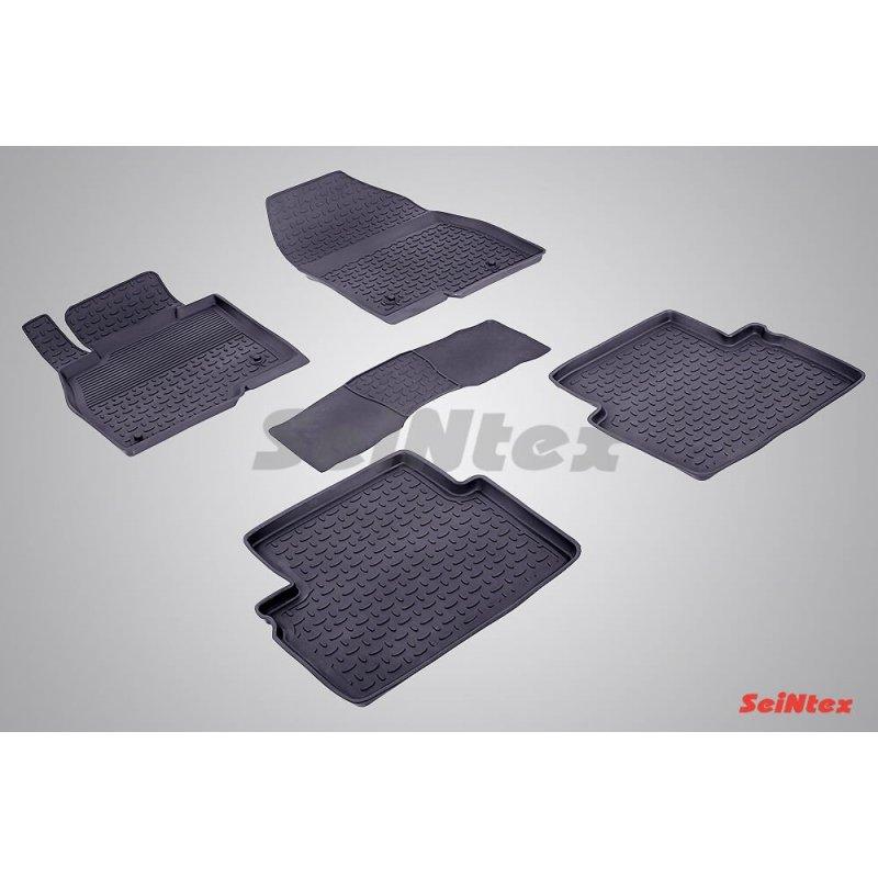 Резиновые коврики высокий борт MAZDA 3 (BM)