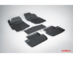 Резиновые коврики высокий борт MITSUBISHI LANCER X