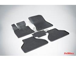 Резиновые коврики сетка BMW X-5 E-70