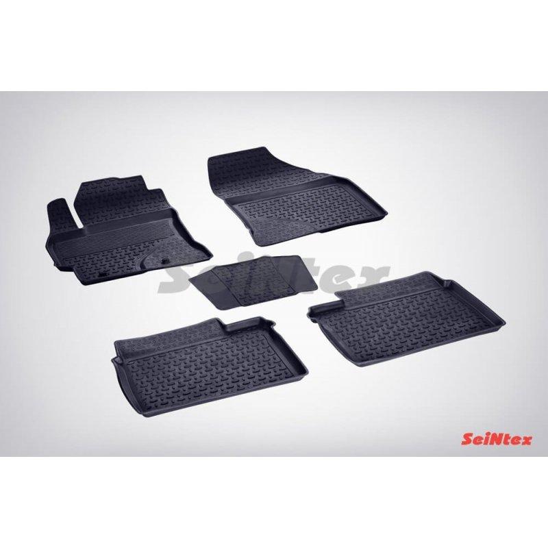 Резиновые коврики высокий борт TOYOTA COROLLA XI