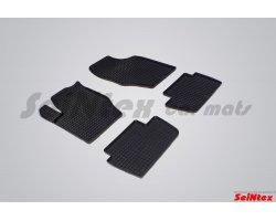 Резиновые коврики сетка Citroen C4