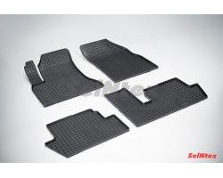 Резиновые коврики сетка Citroen C4 Picasso