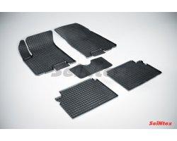 Резиновые коврики сетка Chevrolet Aveo
