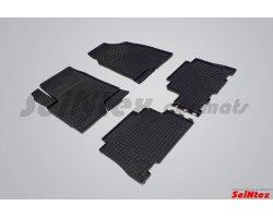 Резиновые коврики сетка Chevrolet Captiva