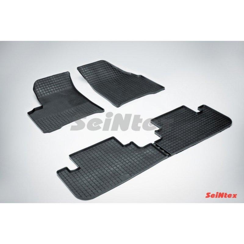 Резиновые коврики сетка Chevrolet Rezzo