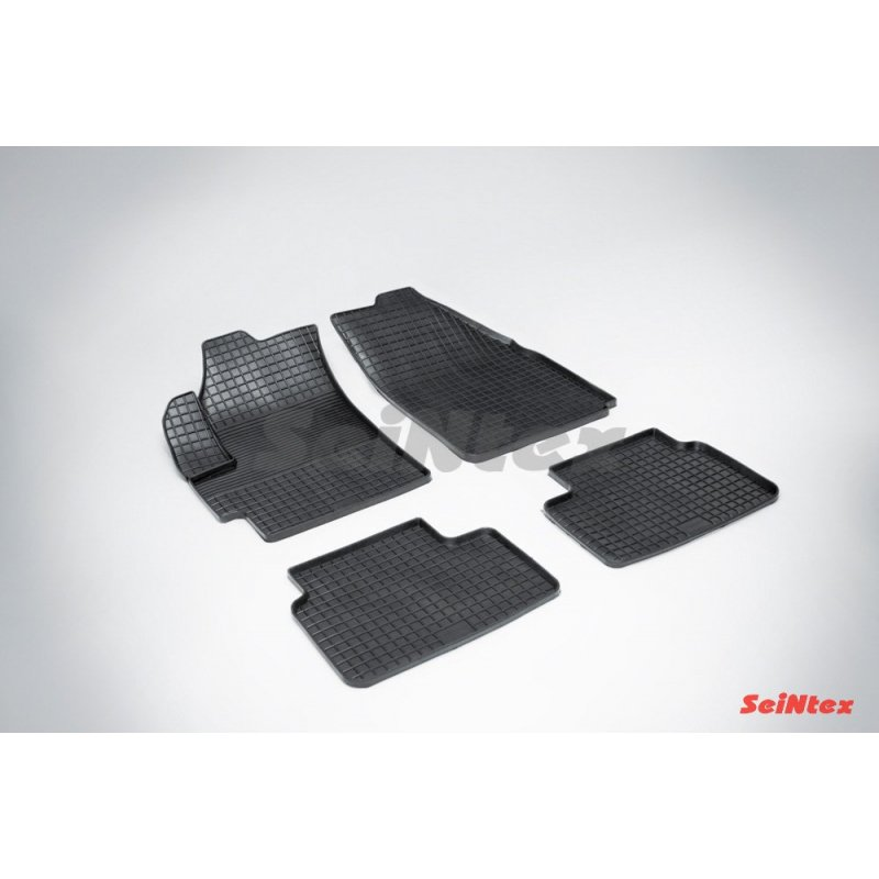 Резиновые коврики сетка Chevrolet Spark