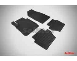 Резиновые коврики сетка Ford Fiesta IV