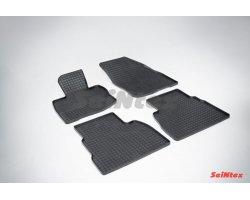 Honda Civic VIII Hatchback Резиновые коврики сетка