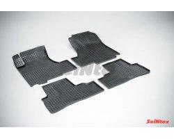 Резиновые коврики сетка Honda CR-V