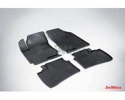 Резиновые коврики сетка Hyundai Elantra