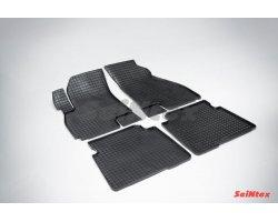 Резиновые коврики сетка Hyundai Santa Fe Classic